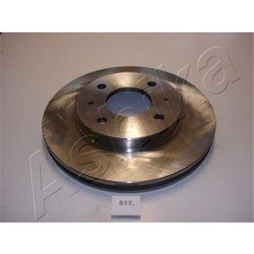 Bremsscheibe ASHIKA Art.No - 60-05-517 OEM: 3256152893 für VW, AUDI, FORD, SKODA, SEAT kaufen