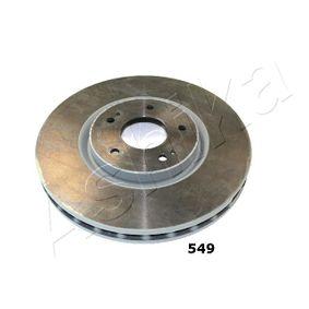 Bremsscheibe ASHIKA Art.No - 60-05-549 OEM: 4615A031 für MITSUBISHI kaufen