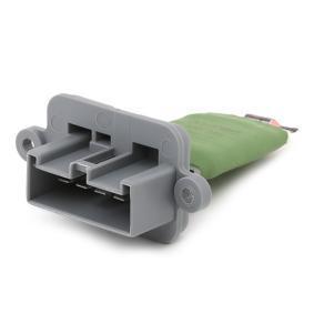 TOPRAN Blower motor resistor 600 383