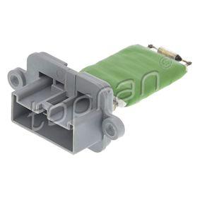 TOPRAN FIAT PANDA Blower motor resistor (600 383)