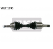 A4 Cabriolet (8H7, B6, 8HE, B7) Semiasse | SKF VKJC 1893