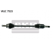 CV Axle (Drive Shaft) Drive Shaft | SKF Article № VKJC 7515