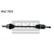 CORSA D Arbre de transmission | SKF VKJC 7515