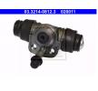 Wielremcilinder voor AUDI 80 (81, 85, B2) | ATE Art. Nr 03.3214-0812.3