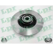 Bremsscheibe LPR (C1005PCA) - PEUGEOT 307 Break (3E) 2.0 HDi 135 ab Baujahr 02.2004, 136 PS