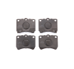 MAZDA Brake Pad Set, disc brake: MAPCO 6334