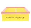 Filtro de ar RENAULT | CHAMPION Número do artigo: CAF100741P