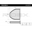 Filtr, vzduch v interiéru MERCEDES-BENZ   RIDEX Článek № 424I0070