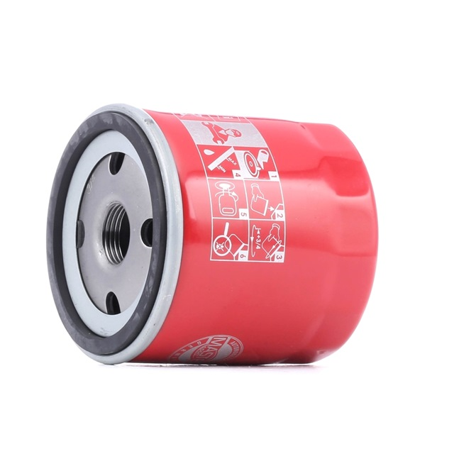 Ölfilter Ø: 76mm, Außendurchmesser 2: 72mm, Innendurchmesser 2: 63mm, Innendurchmesser 2: 63mm, Höhe: 75mm mit OEM-Nummer 1520865F01