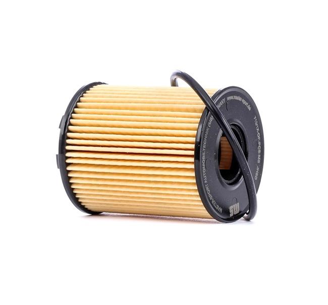 Filtro olio Ø: 65mm, Diametro interno: 27mm, Diametro interno 2: 27mm, Alt.: 83mm con OEM Numero 71765460