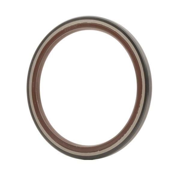 TOPRAN Shaft Seal, crankshaft Transmission End, FPM (fluoride rubber)