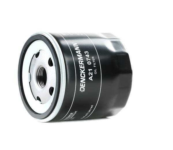 Filtro de aceite A210743 Ibiza 4 ST (6J8, 6P8) 1.0 ac 2018