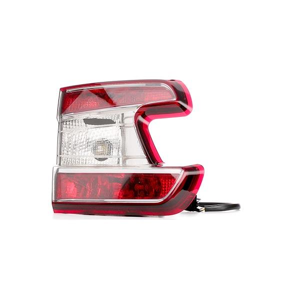 VALEO ORIGINAL TEIL, links, mit Lampenträger, innerer Teil, mit Glühlampen 044087