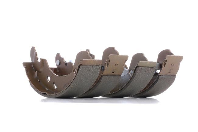 Drum brake shoe support pads DENCKERMANN 10703954 Rear Axle, Ø: 203mm