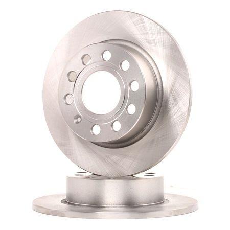 Bremsscheibe Bremsscheibendicke: 10mm, Lochanzahl: 9, Ø: 255mm mit OEM-Nummer 1K0 615601AB