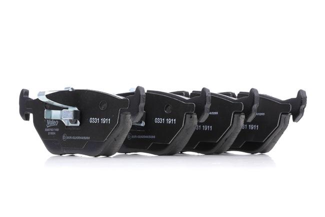 Bremsbelagsatz, Scheibenbremse Breite: 123,3mm, Höhe: 44,9mm, Dicke/Stärke: 16,3mm mit OEM-Nummer SFP 0003 80