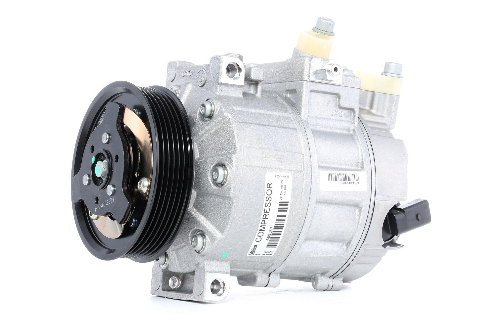 Compressore Climatizzatore VALEO 699357 valutazione