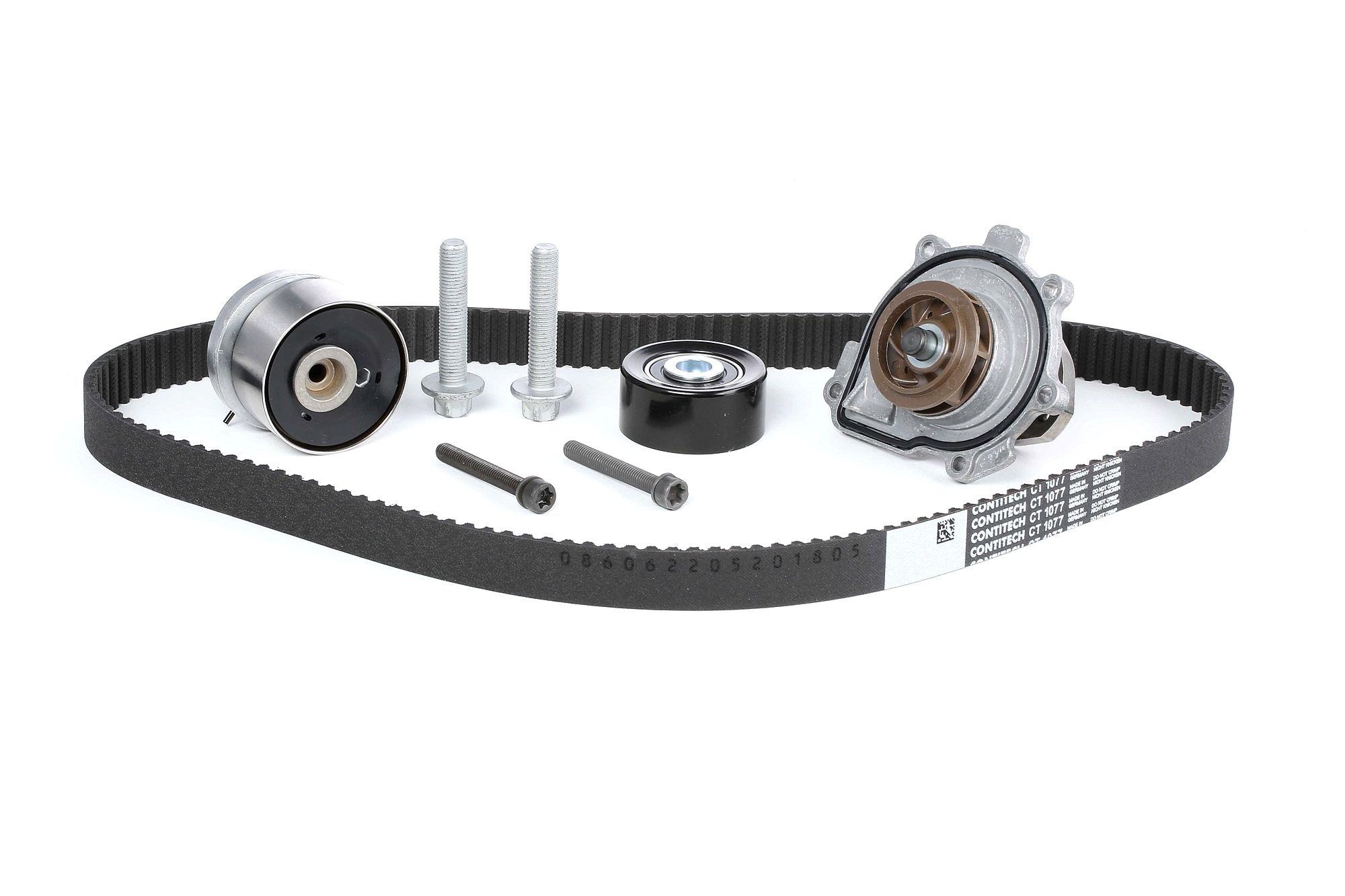 Water Pump + Timing Belt Kit CONTITECH CT1077WP2 rating