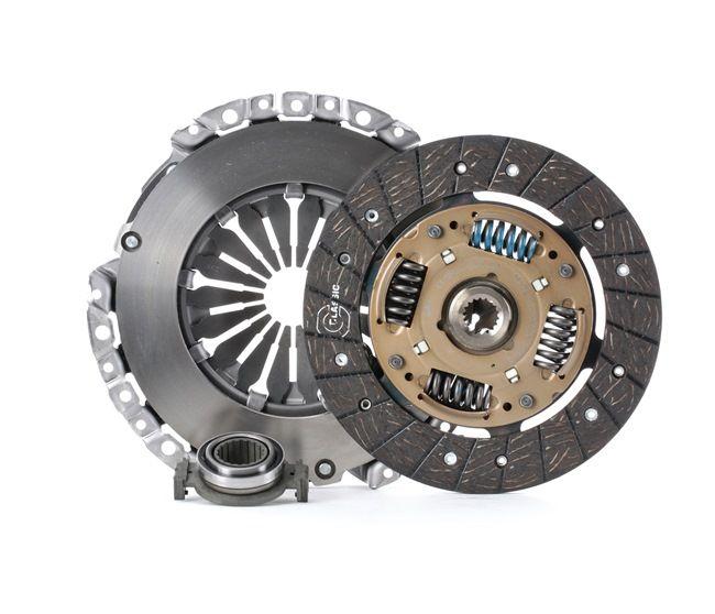 Συμπλέκτης VALEO Σετ συμπλέκτη με δίσκο συμπλέκτη, με ρουλεμάν πίεσης, με πλάκα πίεσης