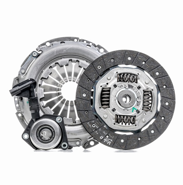 Clutch VALEO Clutch Kit with clutch plate, with clutch pressure plate, with central slave cylinder