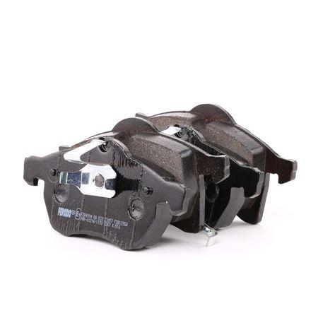 Bremsbelagsatz, Scheibenbremse Höhe 2: 72mm, Höhe 1: 79,5mm, Dicke/Stärke: 19,5mm mit OEM-Nummer 16 05 996