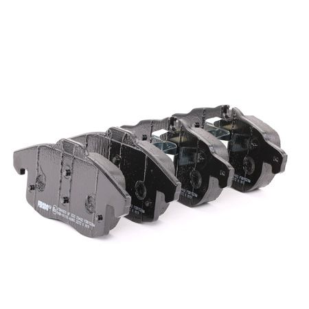 Bremsbelagsatz, Scheibenbremse Höhe 1: 69,5mm, Höhe 2: 70,5mm, Dicke/Stärke: 19,5mm mit OEM-Nummer 93185751