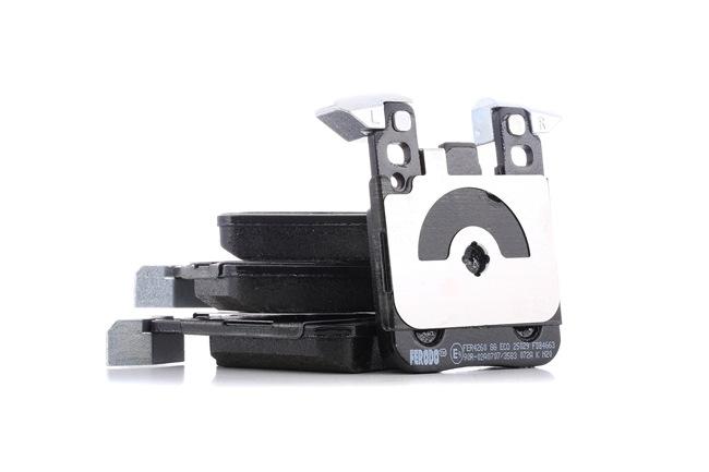 FERODO Brake pad set BMW PREMIER ECO FRICTION, prepared for wear indicator