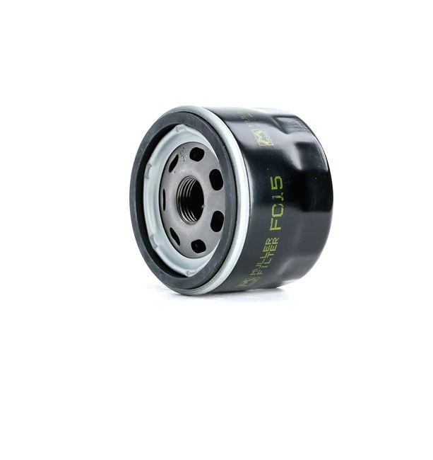 Oil Filter Ø: 76mm, Inner Diameter 2: 72mm, Inner Diameter 2: 62mm, Height: 60mm with OEM Number 71736169