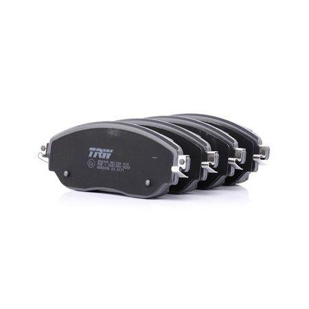 OEM Комплект спирачно феродо, дискови спирачки TRW 22087 за OPEL