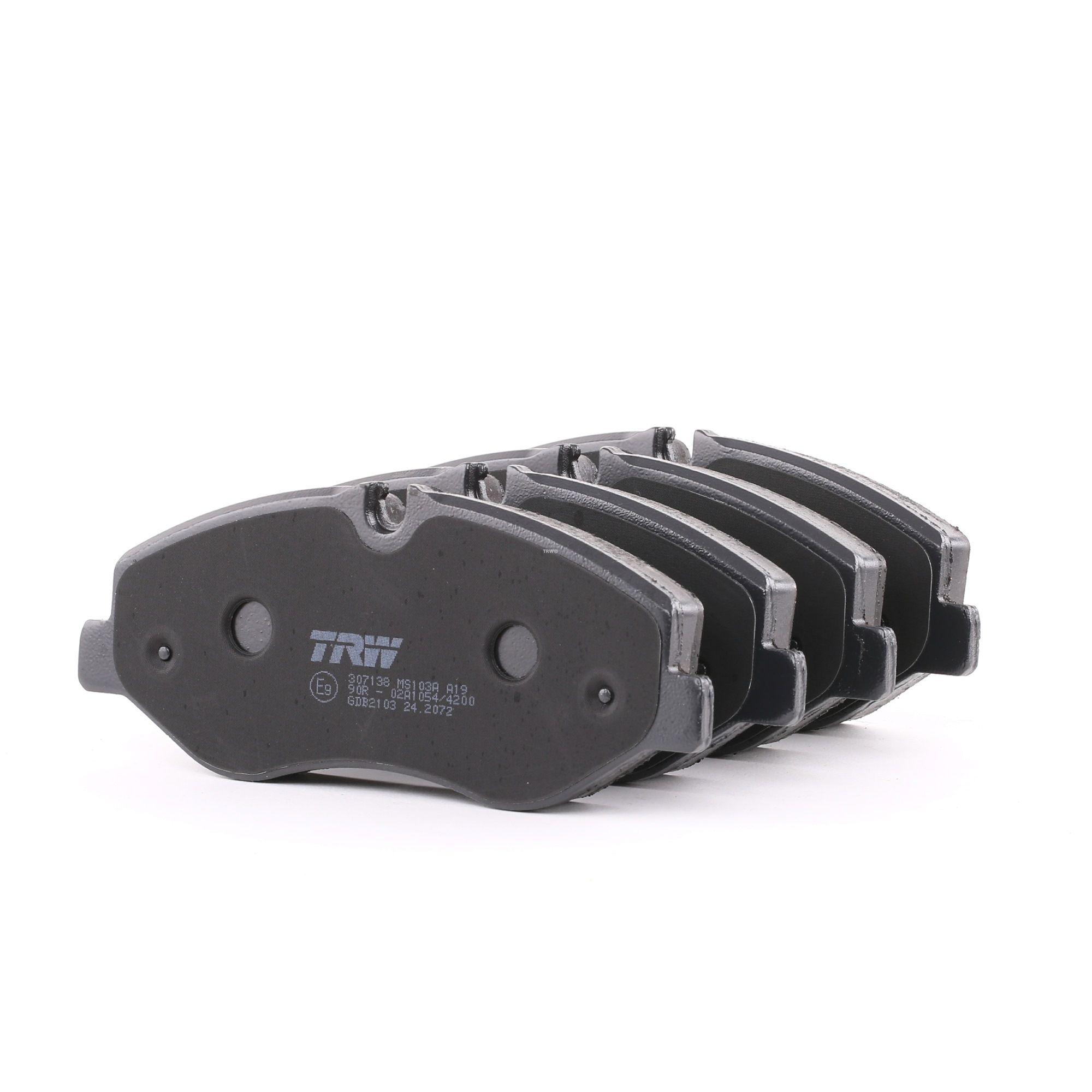 Bremsbelagsatz TRW GDB2103 Bewertung