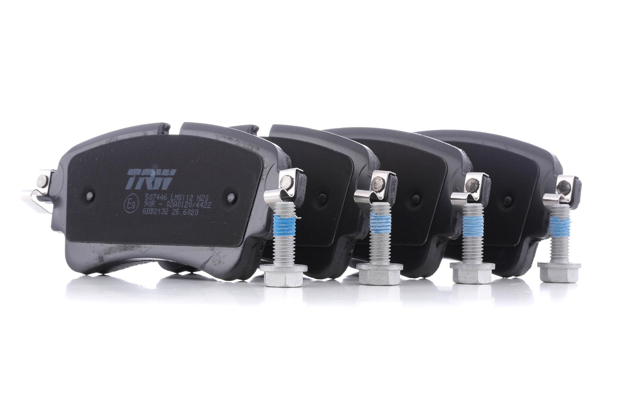 Disk brake pads TRW GDB2132 rating