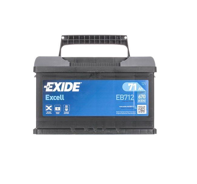Starterbatterie Polanordnung: 0 mit OEM-Nummer 71751136
