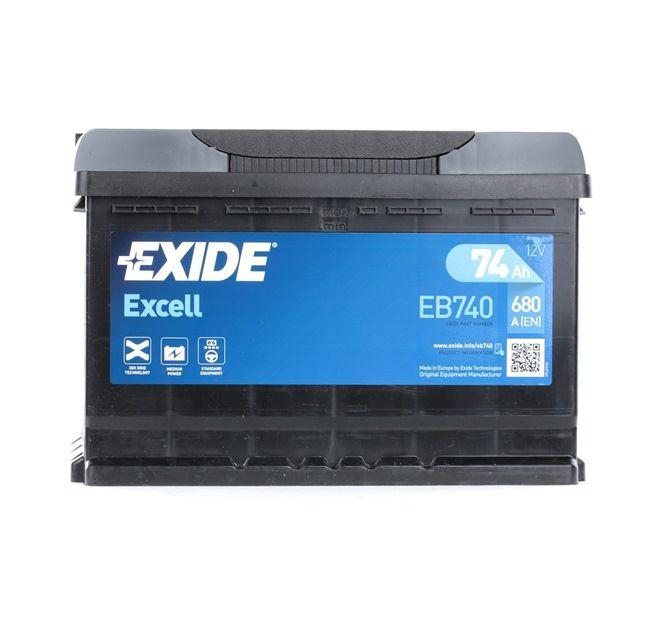 Starterbatterie EB740 TOURAN (1T1, 1T2) 1.9 TDI Bj 2010