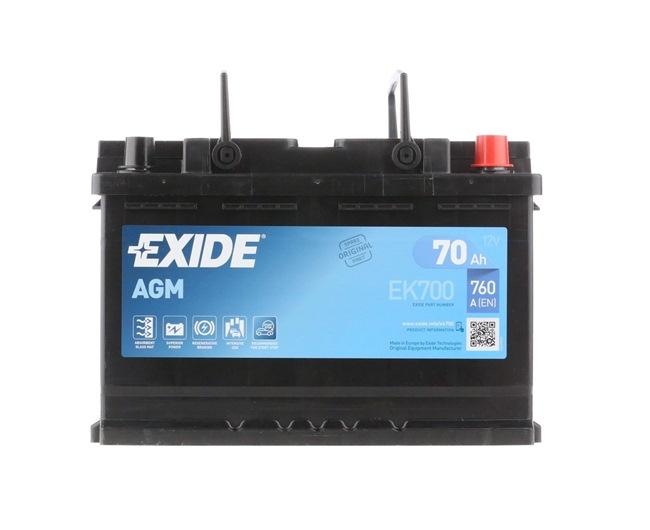 OEM Starterbatterie EXIDE EK700067AGM für MINI