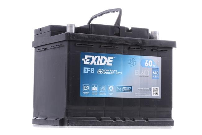 OEM Starterbatterie EXIDE EL600027EFB für MINI