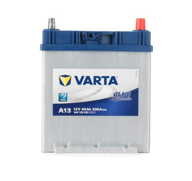 VARTA BLUE dynamic B01 , 40 Ah , 12 V , 330 A , Bleiakkumulator 5401250333132