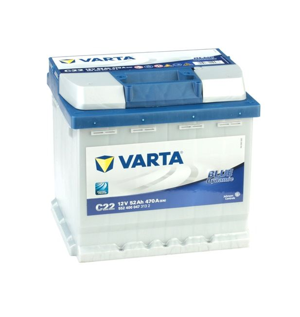 OEM VARTA 552400047 VW TOURAN Batterie