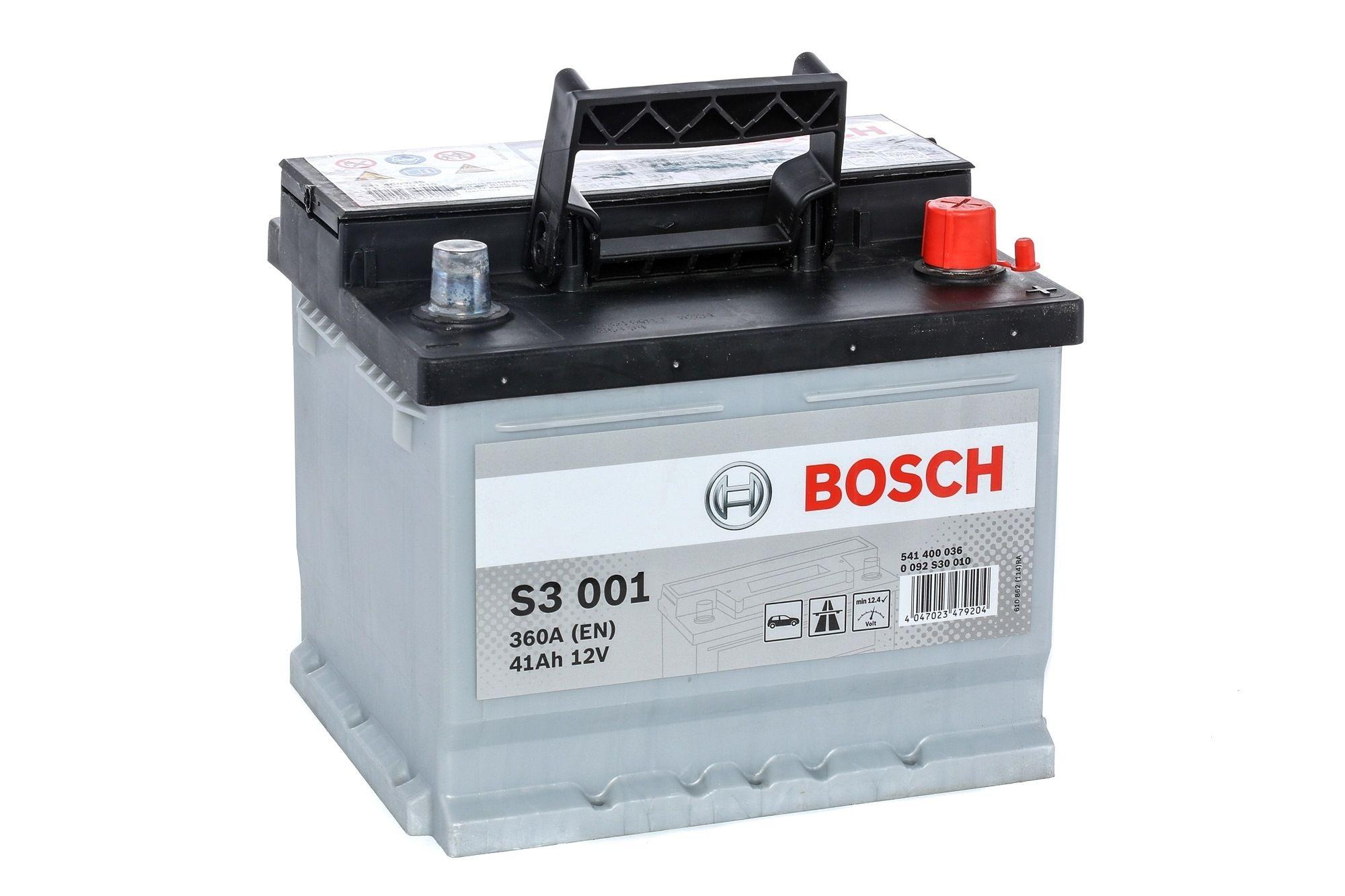 Batterie BOSCH 541400036 Bewertung