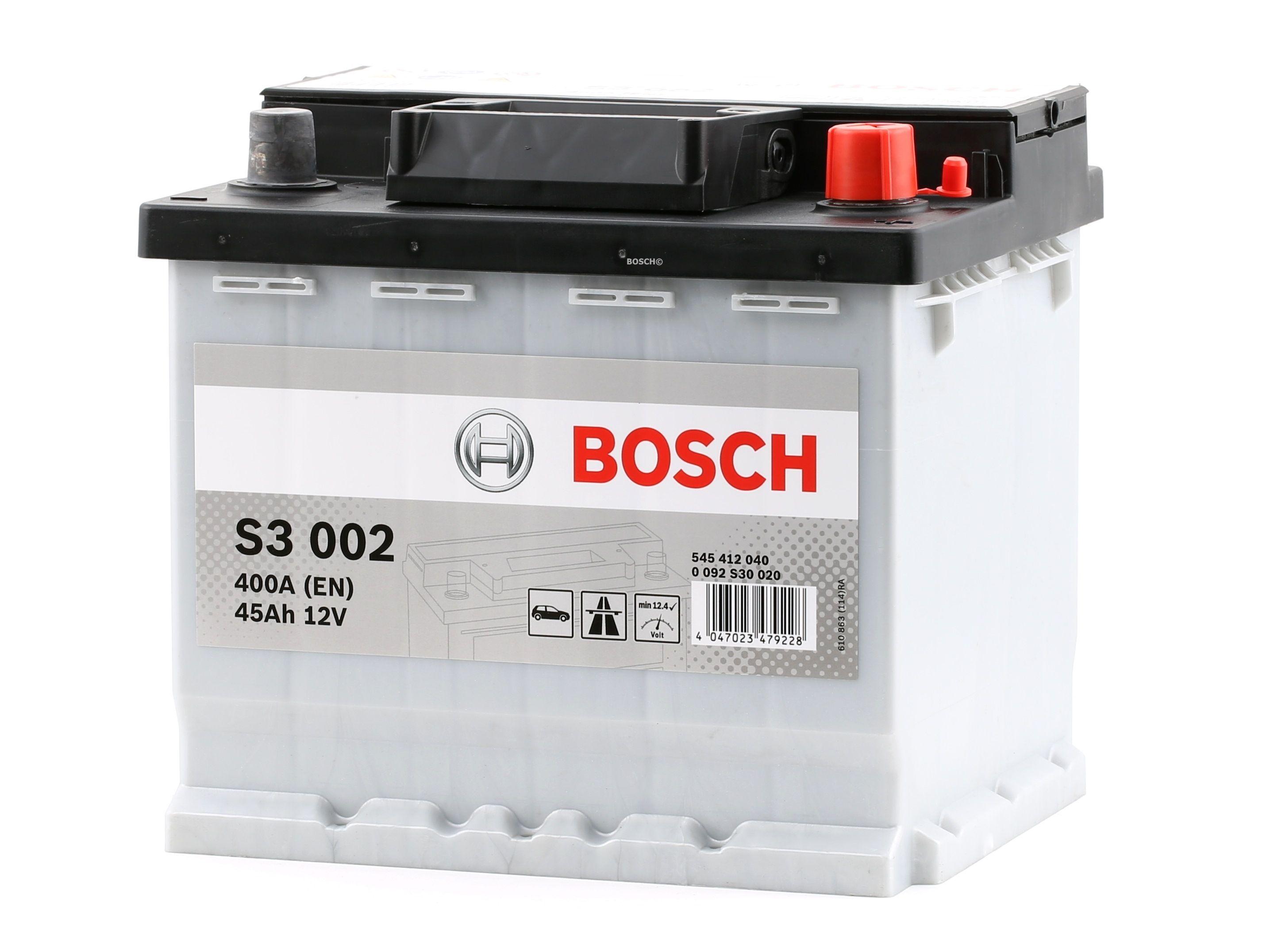 Batterie BOSCH 545412040 Bewertung