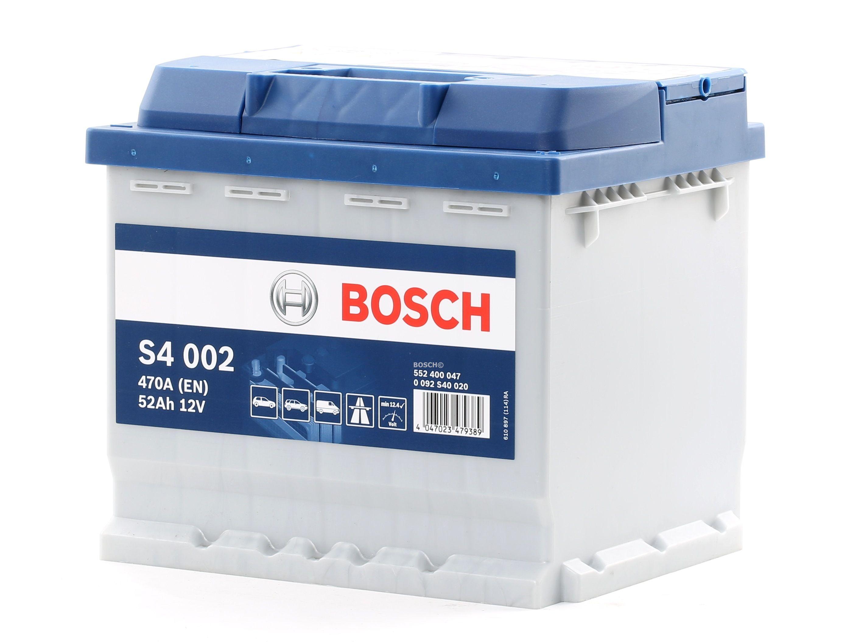 Batterie BOSCH 552400047 Bewertung
