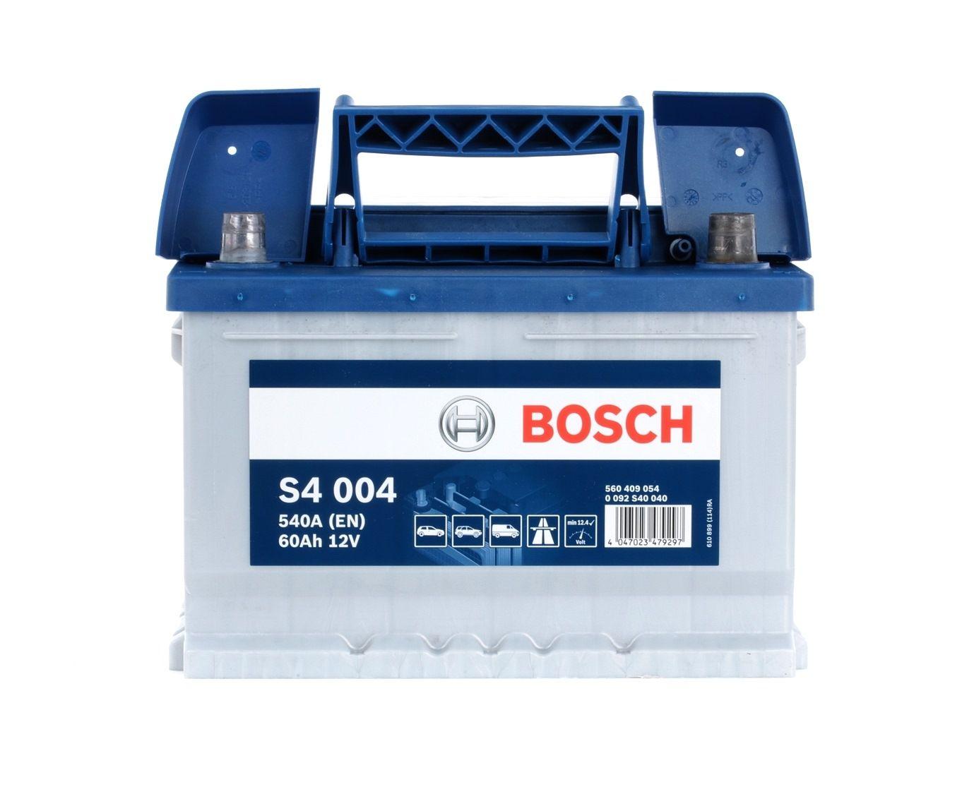 Batterie BOSCH 560409054 Bewertung