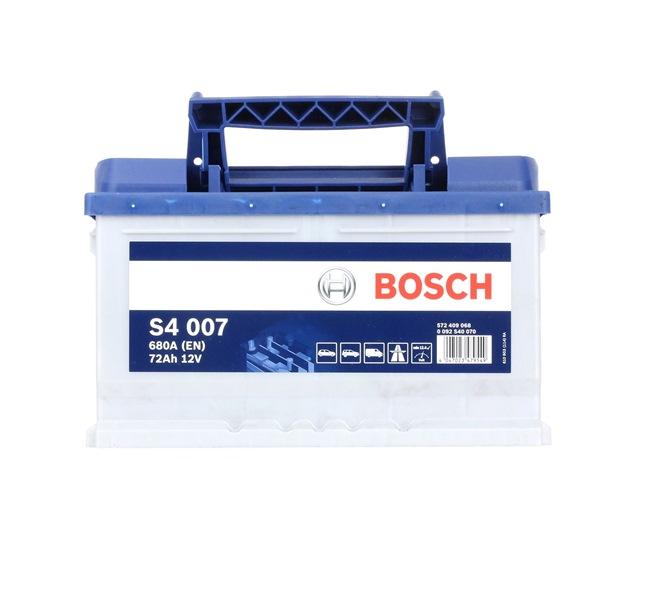 Starterbatterie Polanordnung: 0 mit OEM-Nummer 61212158122