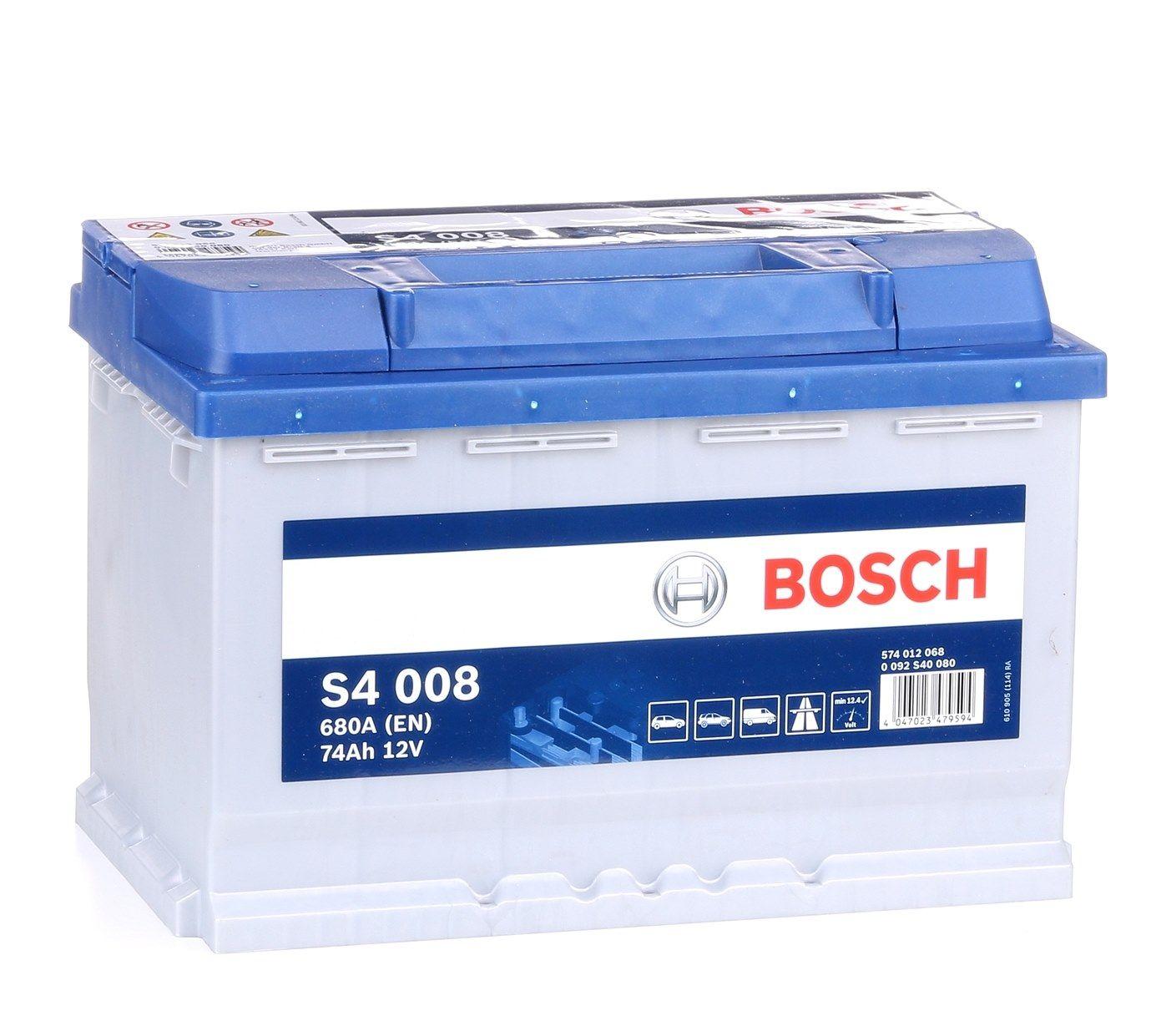 Batterie BOSCH 574012068 Bewertung