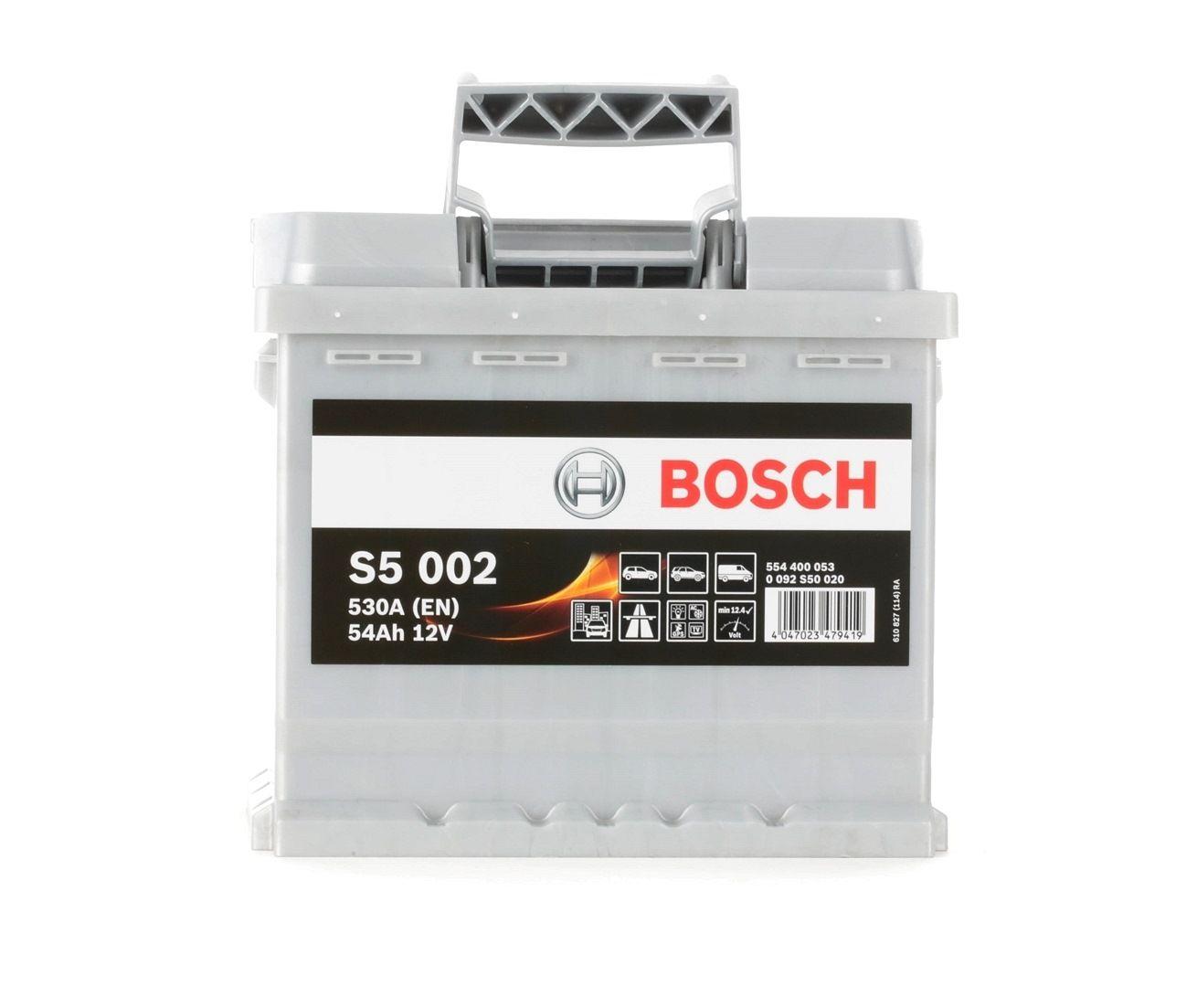 Batterie BOSCH 554400053 Bewertung