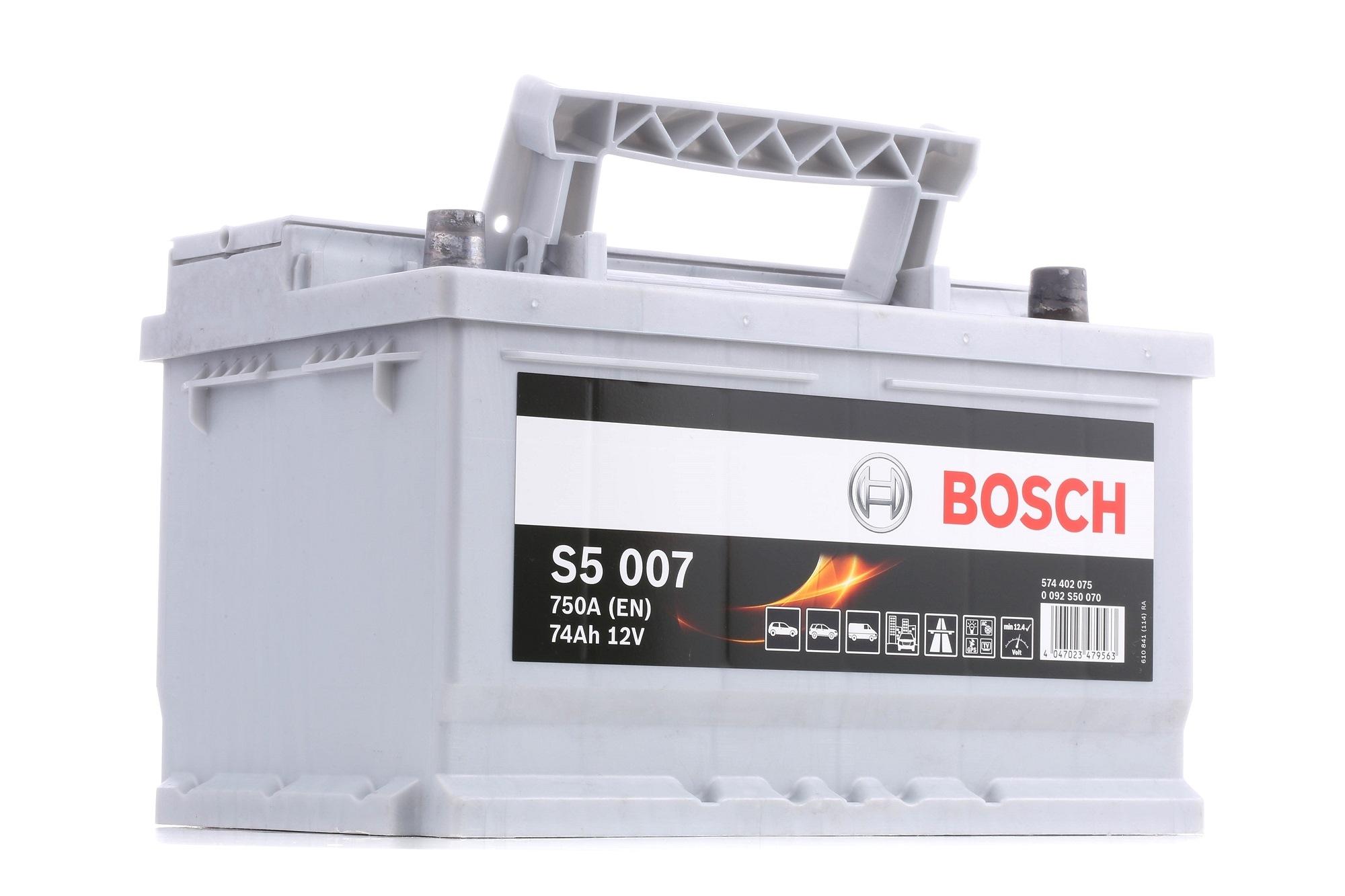 Batterie BOSCH 574402075 Bewertung