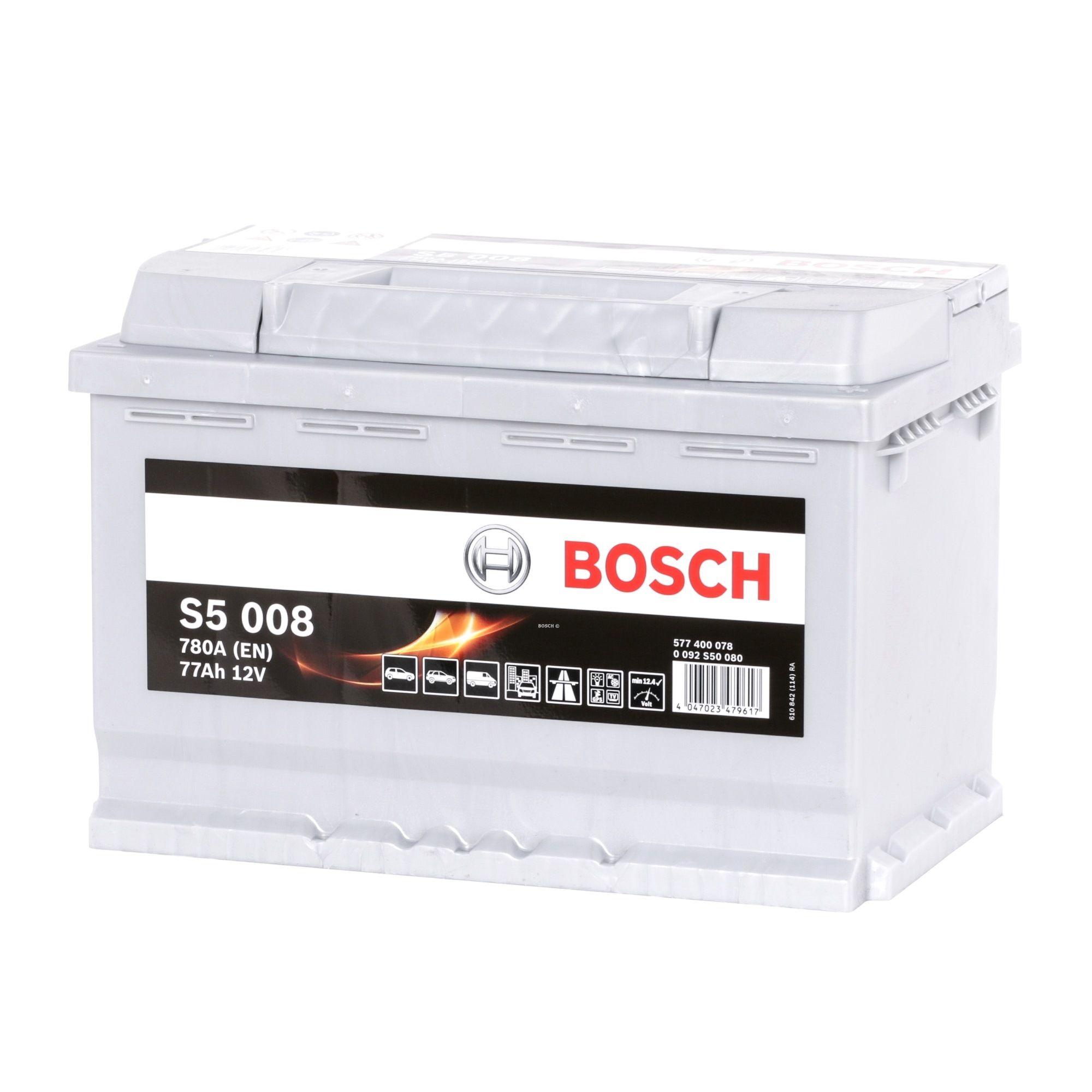 Batterie BOSCH 577400078 Bewertung