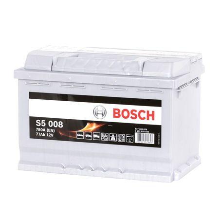 BOSCH S5 77Ah, 12V, 780A, B13, Bleiakkumulator, L3 0092S50080