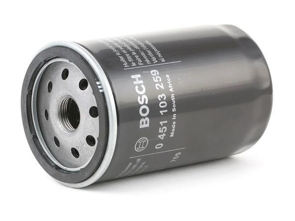 Filtro de aceite BOSCH P3259 Filtro enroscable