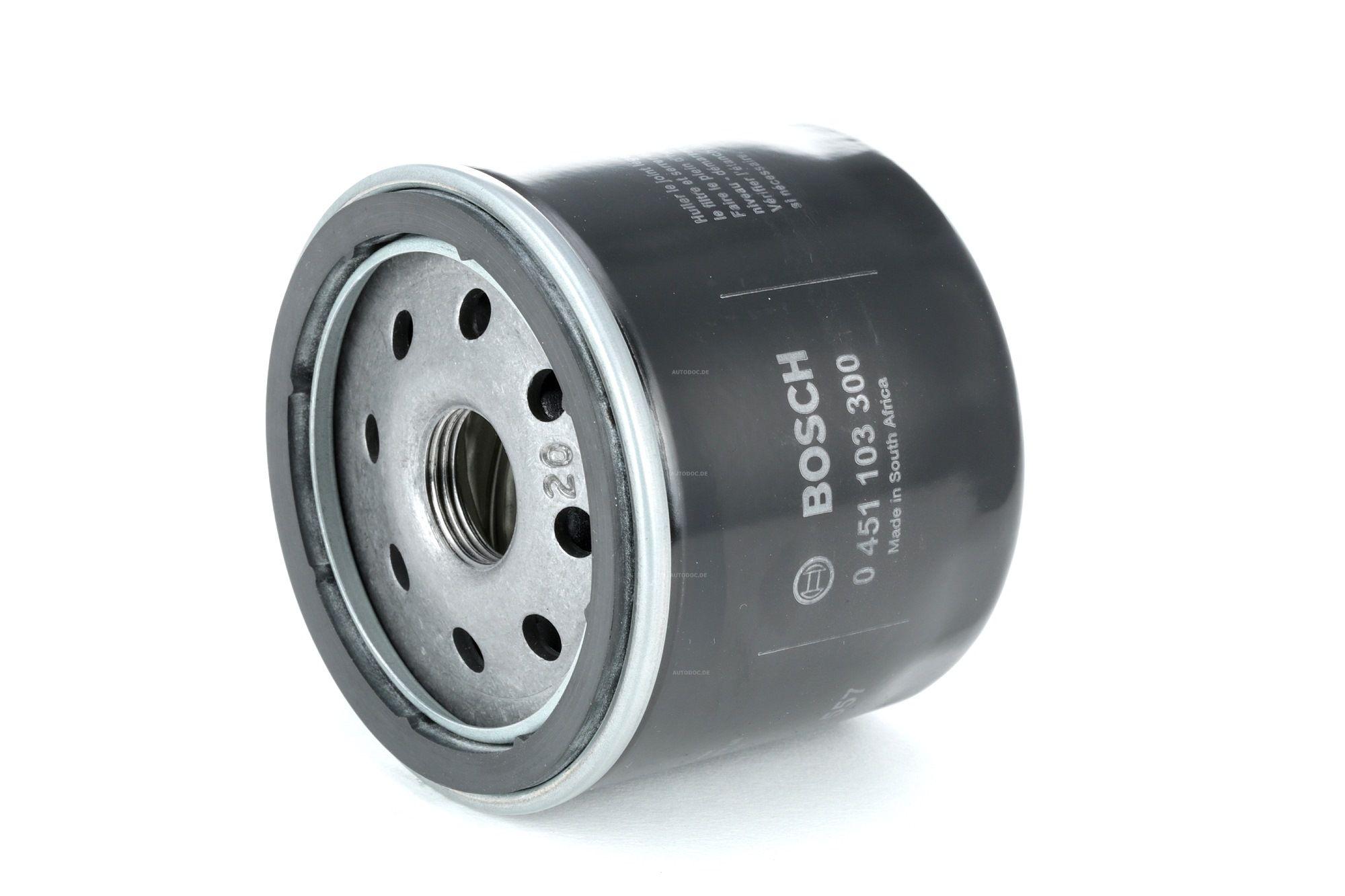 Filtro de aceite BOSCH 0451103071 evaluación