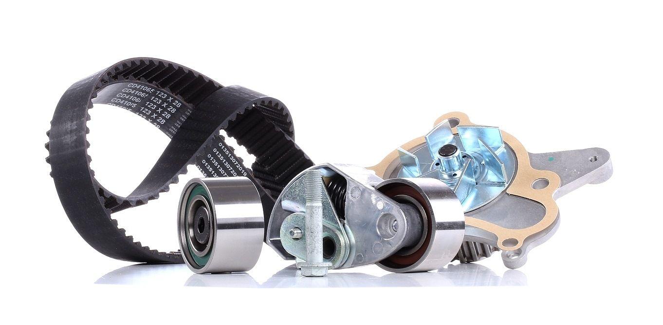Water Pump + Timing Belt Kit SNR KDP470.241 rating